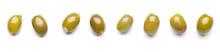 Tasty Olives On White Background