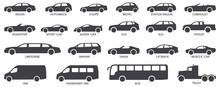 Car Body Types Vector Illustra...