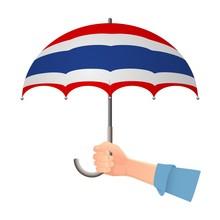 Thailand Flag Umbrella