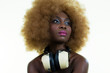 beautiful sexy disco dj woman