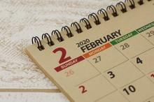 カレンダー 2月