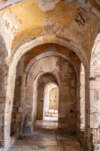 Staande foto Historisch geb. St. Nicholas Church in Demre, The church known as