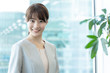 portrait of asian businesswoman in office