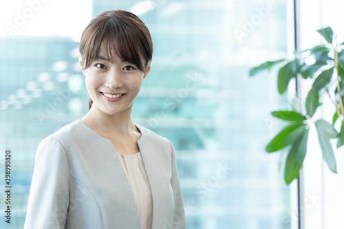 Fotografia  portrait of asian businesswoman in office