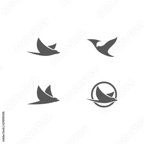 Valokuvatapetti Bird Logo