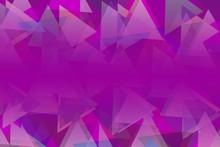 Bright Multi Colorful Purple C...