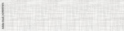 Fotografija Natural Gray French Linen Texture Border Background