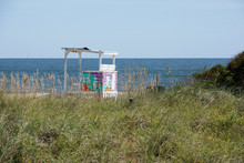 Life Guard Stand At The Beach ...