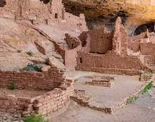 Ancient Cliff Dwellings In Mes...