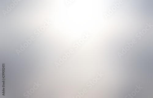 Metal blurred abstract texture. Silver empty background. Metallic grey defocus illustration.