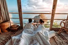 Couple Enjoying Morning Vacati...