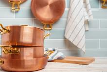 Modern Kitchen Details With Co...