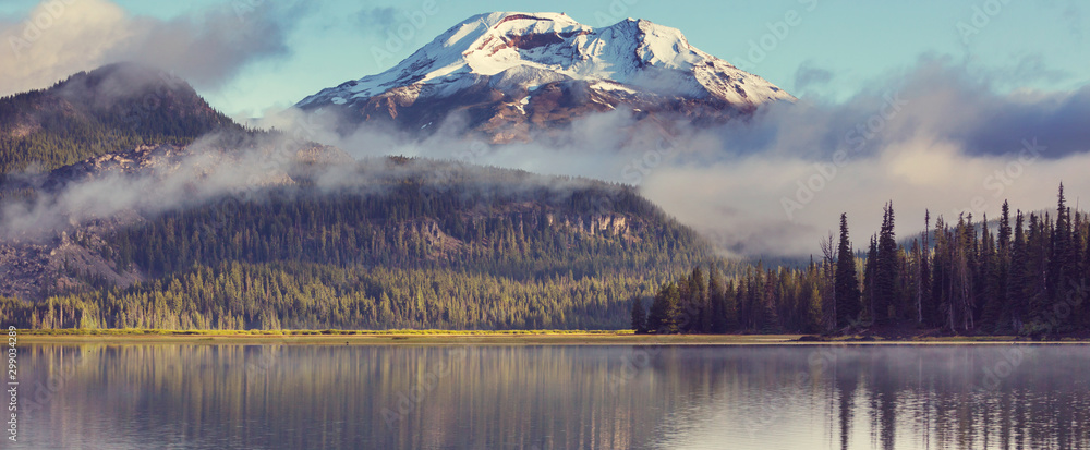 Fototapety, obrazy: Lake in Oregon