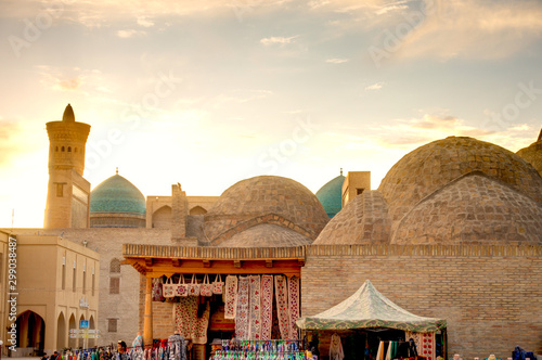 Bukhara old town and bazaar, Uzbekistan Wallpaper Mural