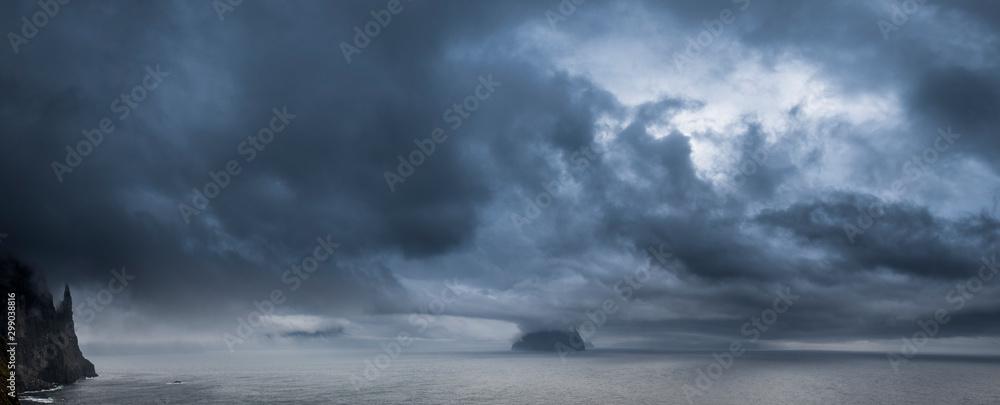 Fototapeta Färöer - Inseln im Nordatlantik