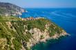 Corniglia (Cinque Terre Italy) Liguria, Italy coastline of Riviera