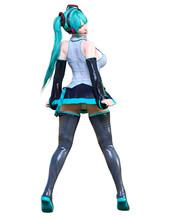 3D Comics Cosplay Anime Girl.