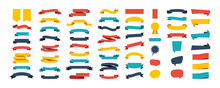 Colorful Vector Ribbon Banners...