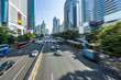 urban traffic street in city of China.