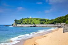 Landscape With A Sandy Beach A...
