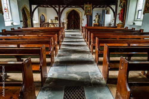 Valokuvatapetti roman catholic church coughton court warwickshire england uk