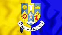 3D Flag Of Clare County, Irela...