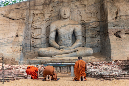 Obraz na plátně Polonnaruwa