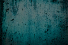 Detail Of Old Weathered Blue W...