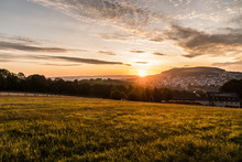 Sonnenaufgang Bei Annaberg-Buc...