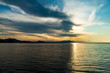 Landscapes of Crimea, sunrises and sunsets, mountains, sea, landscape of clouds and mountain landscapes