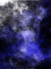 abstract background with purple dark clouds