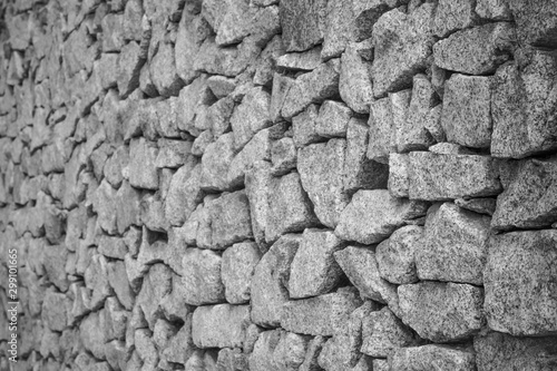 Photo Gray fortress wall.