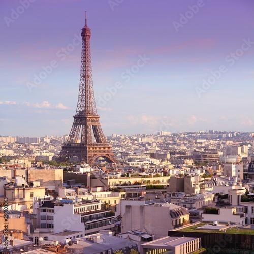 Paris, France. Eiffel Tower.