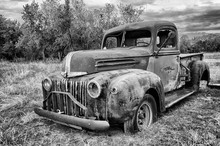Abandoned 1942 Ford Pickup Truck