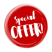 Special Offer Tag, Vector Illu...
