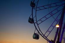 Ferris Wheel With Transparent ...