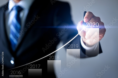 Fotomural Business development and growth 2020 concept