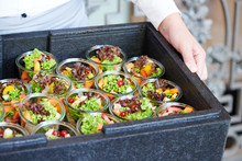 Catering Buffet Partyservice Salat Im Glas