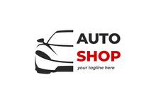 Sport Car Logo Design Template Vector