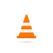 Construction Traffic Cone Icon...