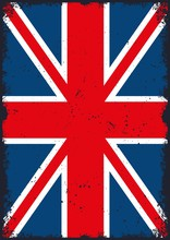 United Kingdom Flag Vertical T...