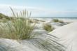 Leinwandbild Motiv Breiter Strand an der Nordsee