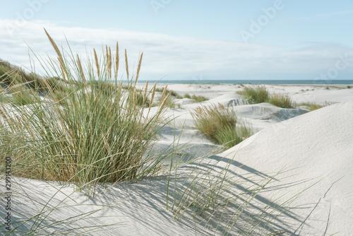 Breiter Strand an der Nordsee Tablou Canvas