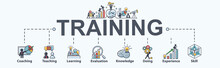 Training Banner Web Icon For B...