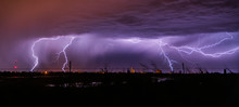 Lightning In Field