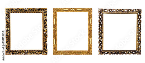 Poster Retro isolated frame