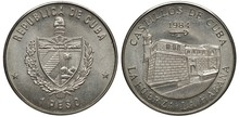 Cuba Cuban Coin 1 One Peso 198...