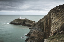 South Stack Lighthouse Anglesea, Holyhead, Wales