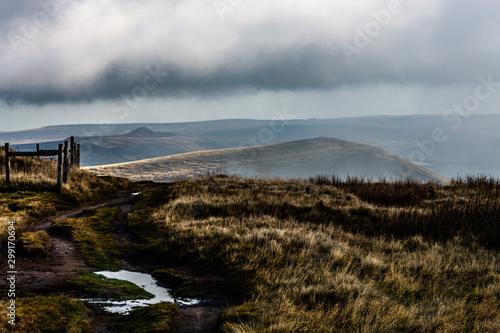 Peak district , hope valley, buxton, great britain, england, derbyshire Canvas Print