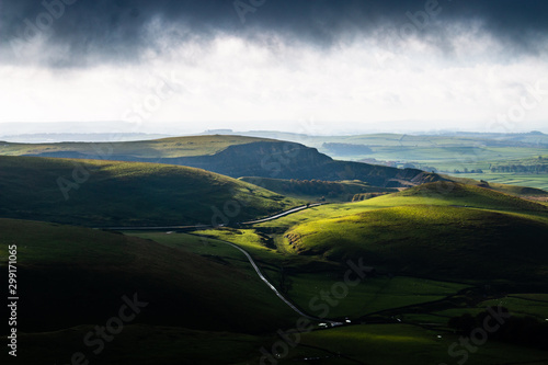 Canvas Print Peak district , hope valley, buxton, great britain, england, derbyshire